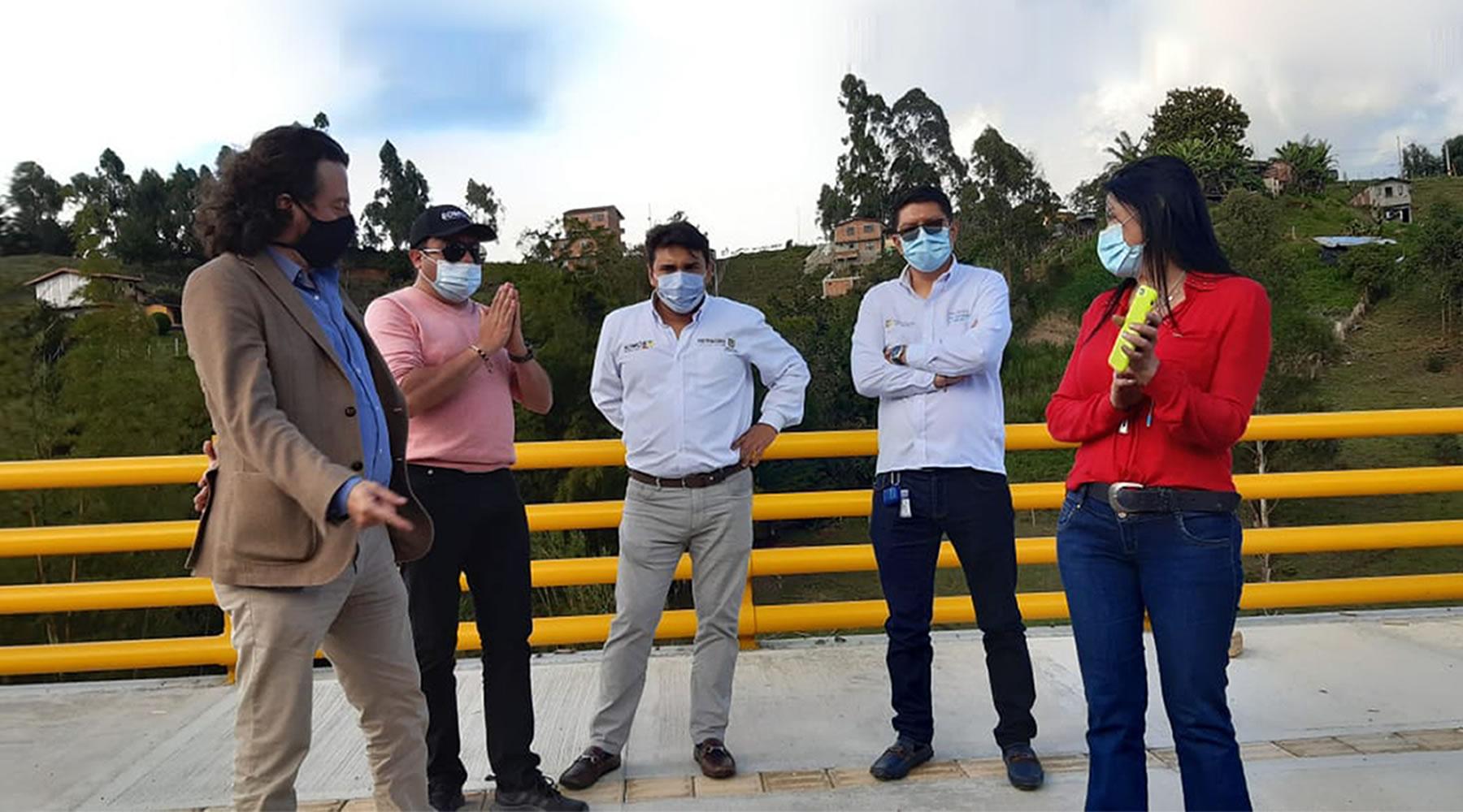 Delegados del departamento de Nariño visitan a SOMOS