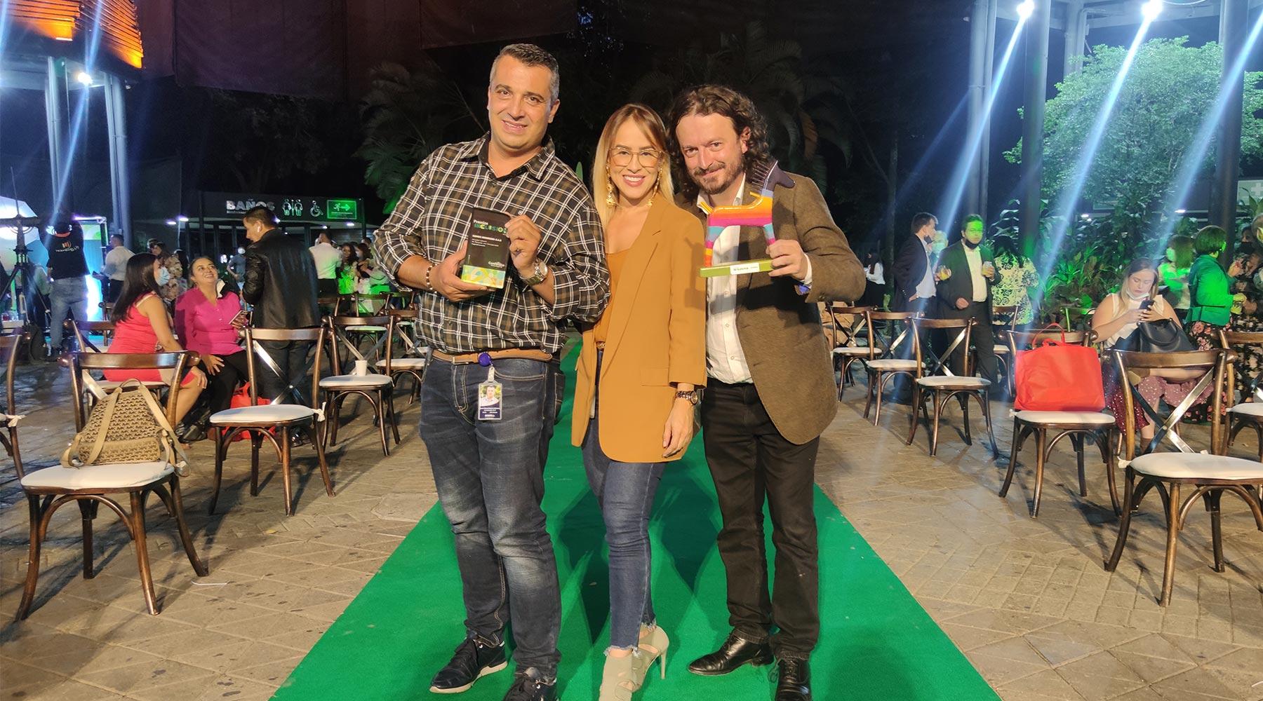 SOMOS es reconocida en los premios Inclusión Comfenalco 2021